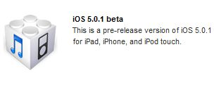 iOS 5.0.1 beta