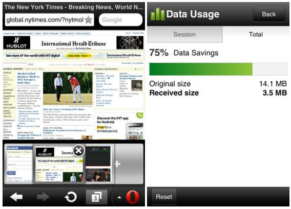 Opera Mini 6.5 for iOS