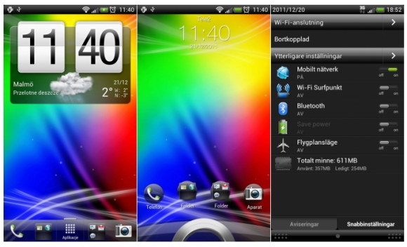 HTC Sense 3.5 for Android 4.0