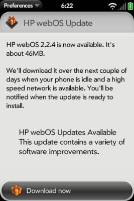 webOS 2.2.4