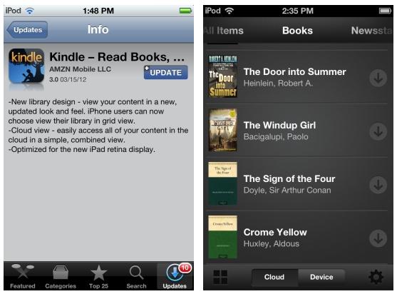 Kindle 3.0