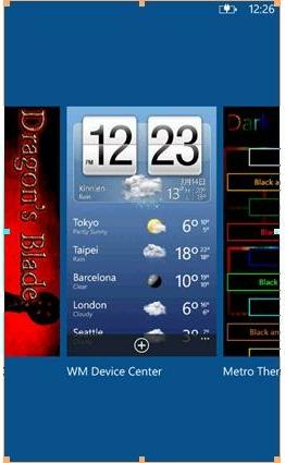 Windows Phone 7.5 refresh multitasking