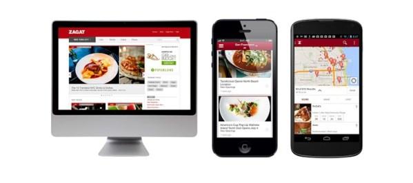 Zagat od Google'a: przewodnik po restauracjach i pubach