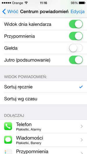 iOS-7-bateria-centrum-powiadomien