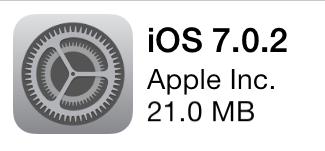 Apple udostępniło aktualizację iOS 7.0.2