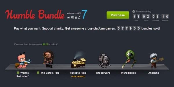 Hity dla graczy na Androida, w Humble Bundle!
