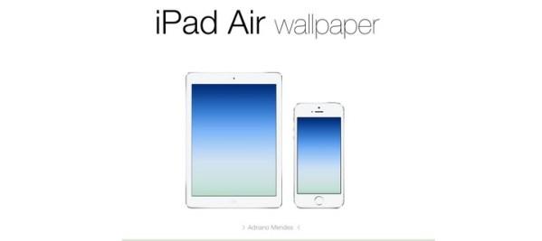 Tapeta iPada Air na iPhone'a i iPada