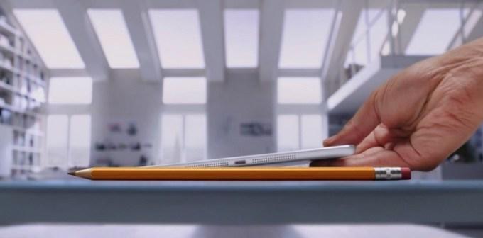 iPad Air reklama Pencil