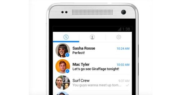 Messenger – mniej Facebooka więcej wiadomości