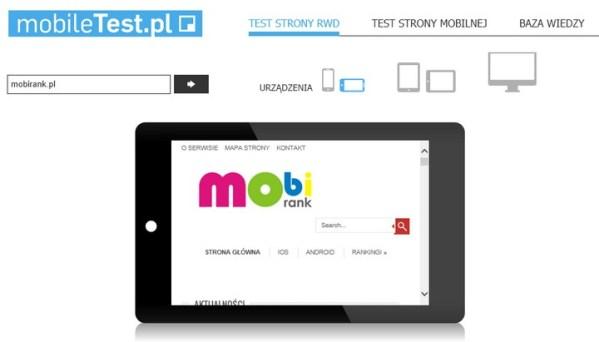 Sprawdź się z mobilnej strony na mobileTest.pl