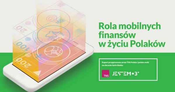 """Infografika """"Rola mobilnych finansów w życiu Polaków"""""""