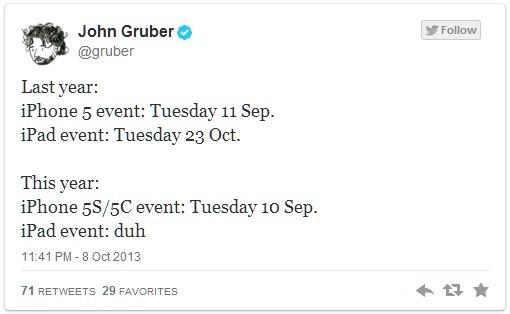 tweeter 22 października