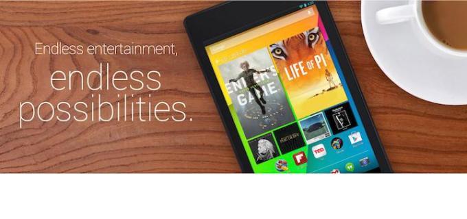 Nexus 7 reklamy
