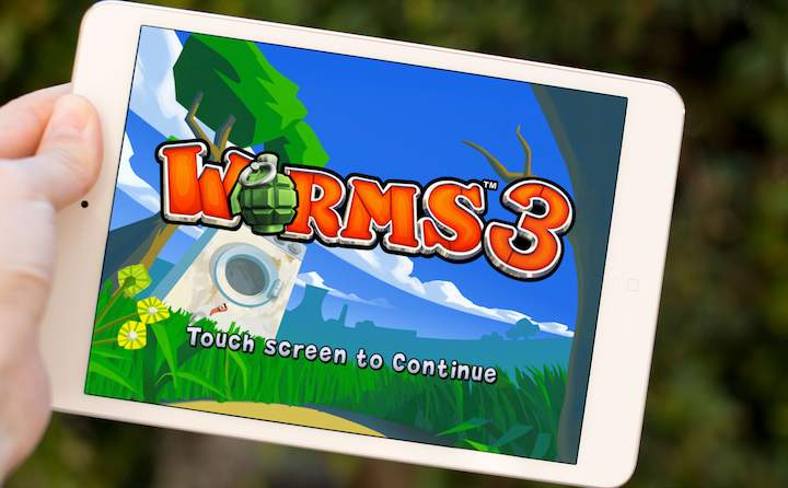 Worms™ 3 na iPada