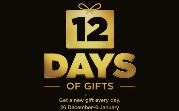 12 Days of Gifts – świąteczne prezenty od Apple'a