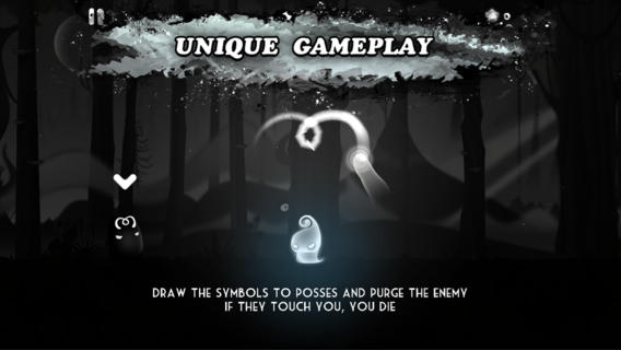 Darklings gra screen