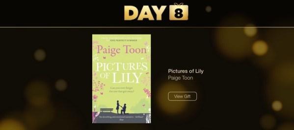 Pictures of Lily – dziś w prezencie książka Paige Toon