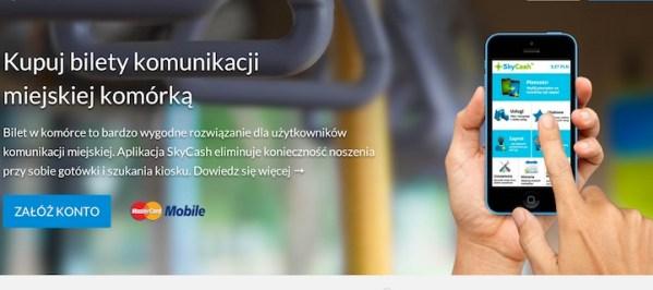 SkyCash z biletami NFC w Krakowie