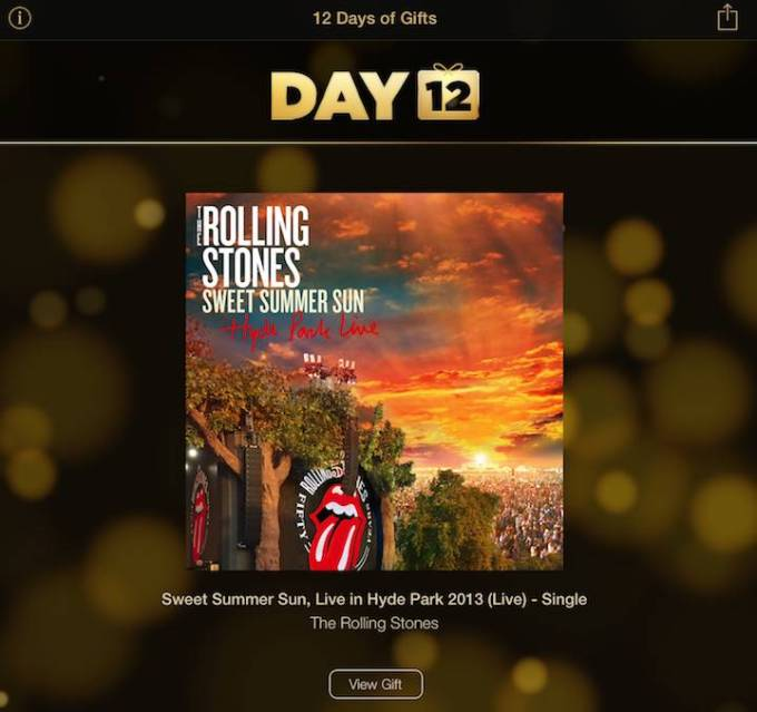 The Rolling Stones - 12 Days of Gifts