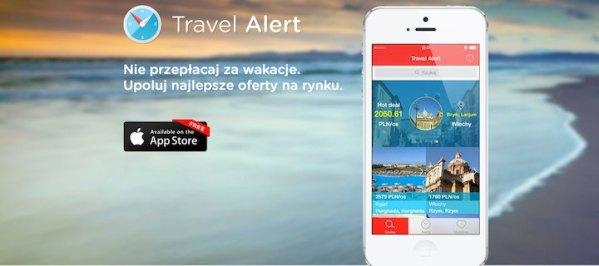 Travel Alert – oferty turystyczne w telefonie