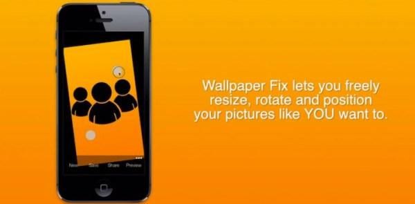 Wallpaper Fix – łatwe skalowanie tapety pod iOS 7