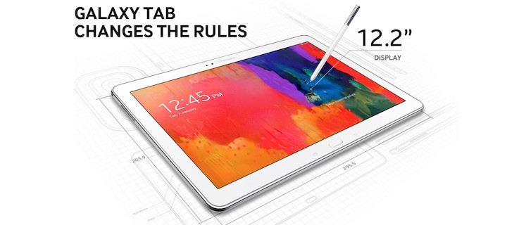 Samsung Galaxy NotePRO 12.2 - reklama