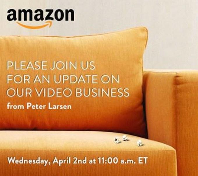 Zaproszenie na konferencję Amazon 2 kwietnia 2014