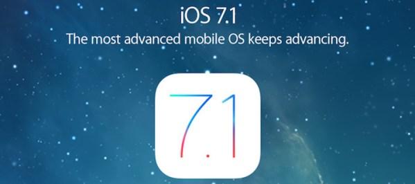 iOS 7.1 wreszcie gotowe do pobrania