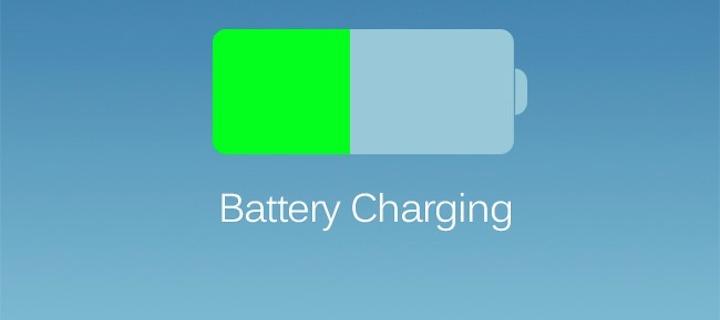 Bateria pod iOS 7.0.6