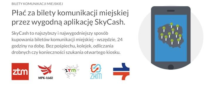 SkyCash 3.0 z biletami w trybie offline