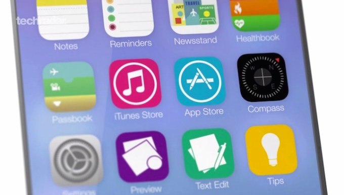 iOS 8 - wideokoncept od TexhRadar