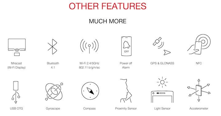 OnePlus One inne funkcje