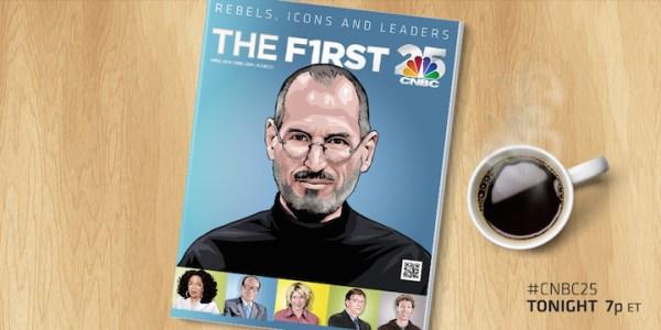 Steve Jobs najbardziej wpływowym liderem biznesu w ciągu ostatnich 25 lat według CNBC