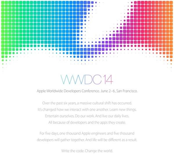 WWDC 2014 odbędzie się w dniach 2-6 czerwca