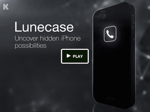 Lunecase – obudowa wyświetlająca powiadomienia