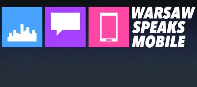 Warsaw Speaks Mobile logo
