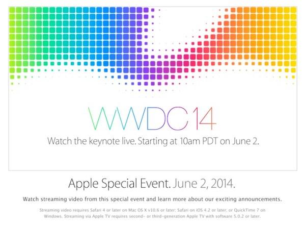 Apple będzie transmitować WWDC 14 na żywo