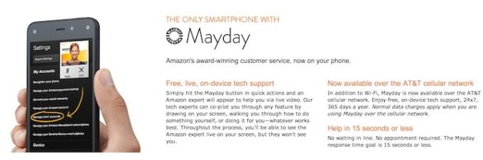 Amazon Fire Phone - Mayday