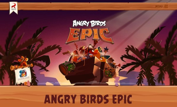 Angry Birds Epic dostępne do pobrania
