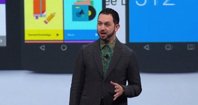 Google I/O 2014 screen