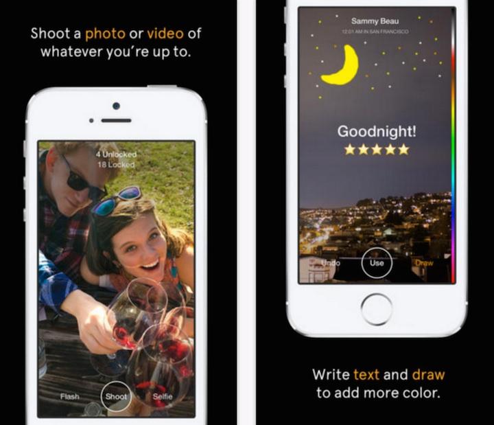 Slingshot - aplikacja screeny