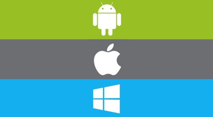 Android, iOS, Windows