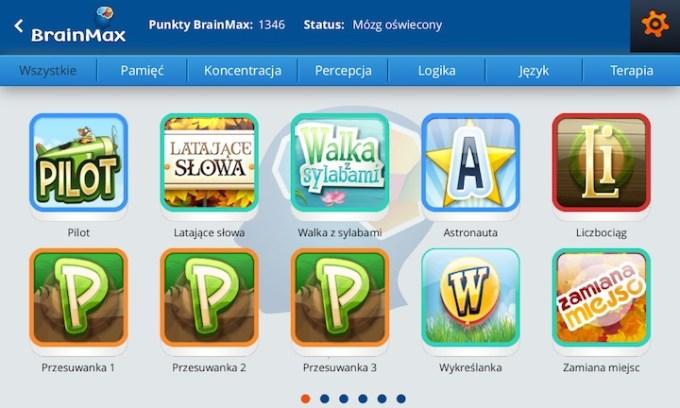 Aplikacja Brainmax