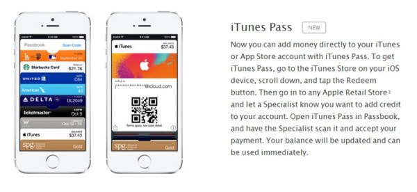 iTunes Pass umożliwi dodanie środków do konta Apple