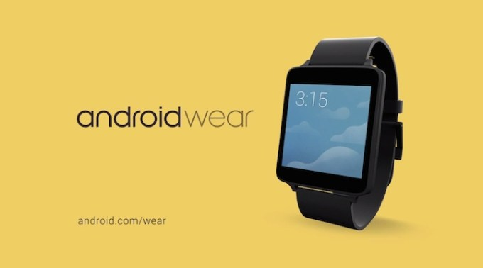 """Android Wear """"at a glance"""""""