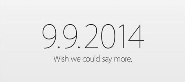 Oficjalnie:  konferencja Apple'a 9 września