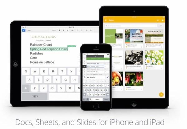 Prezentacje Google dostępne na iOS-a