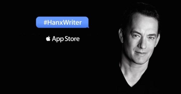 Hanx Writer – aplikacja na iPada od Toma Hanksa