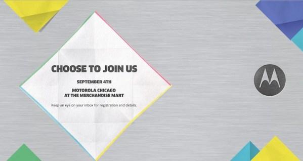Motorola: zaproszenie na premierę Moto 360