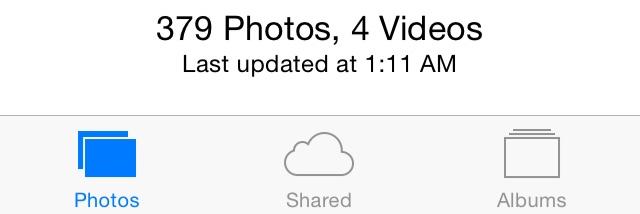 Ostatnia aktualizacja zdjęć na iCloud